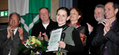 Sabine receives an award