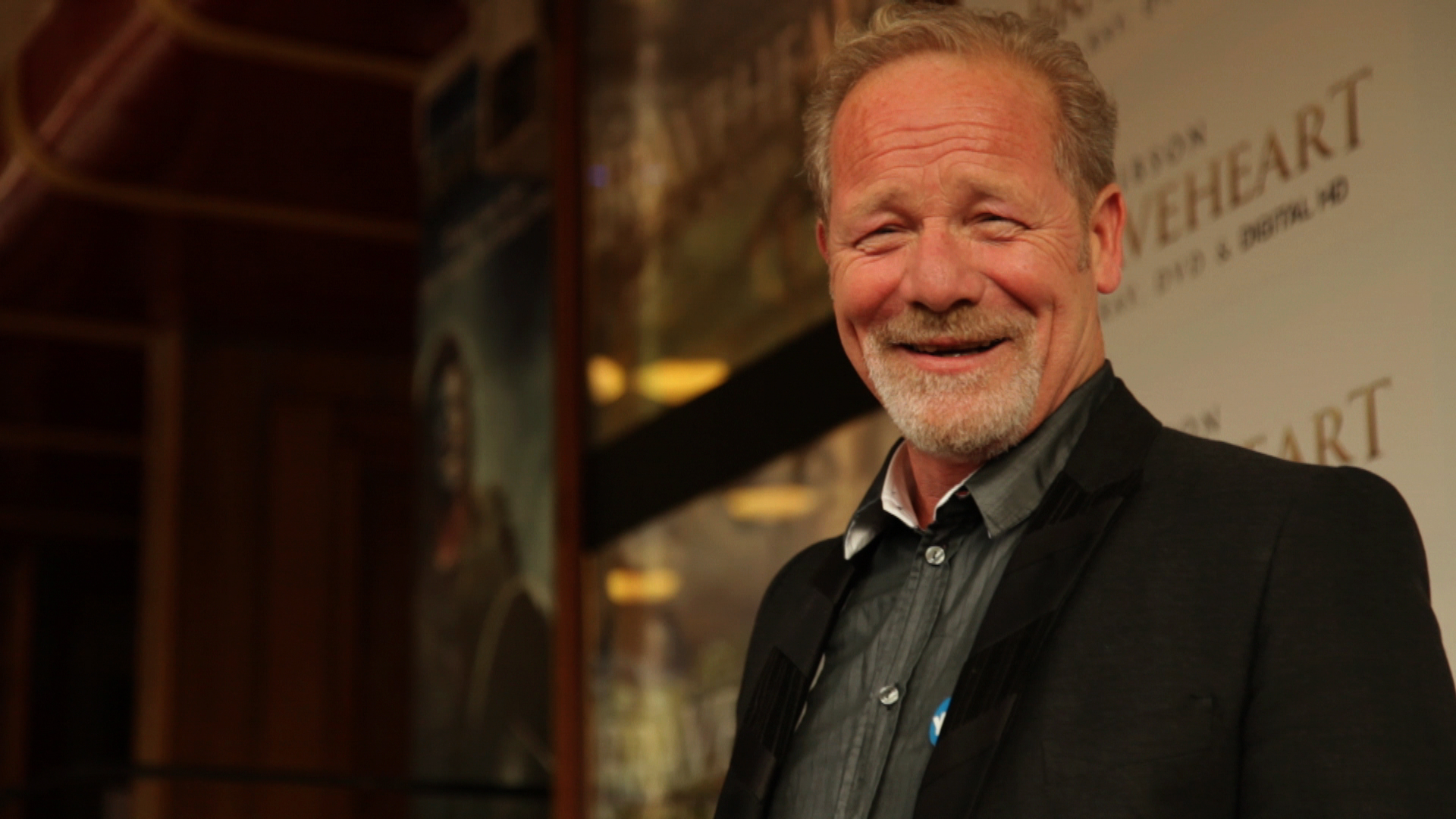 Peter Mullan at Braveheart reunion
